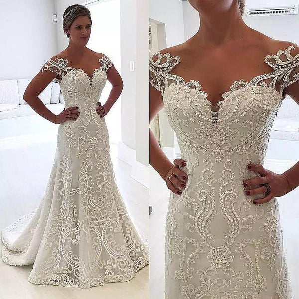 Wholesale Unique Wedding Dress , Bridal Gown ,Dresses For Brides, PM0013