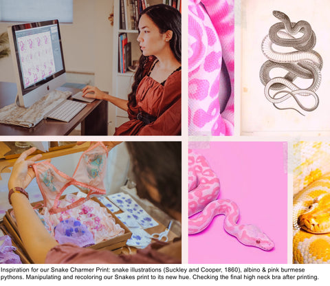 From inspiration to digital design to hand printing