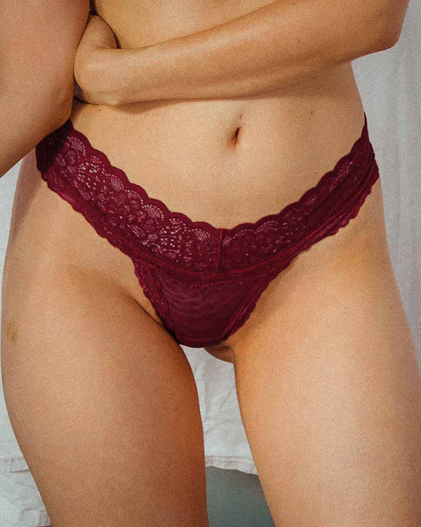 Lacey Undies in Rosewood
