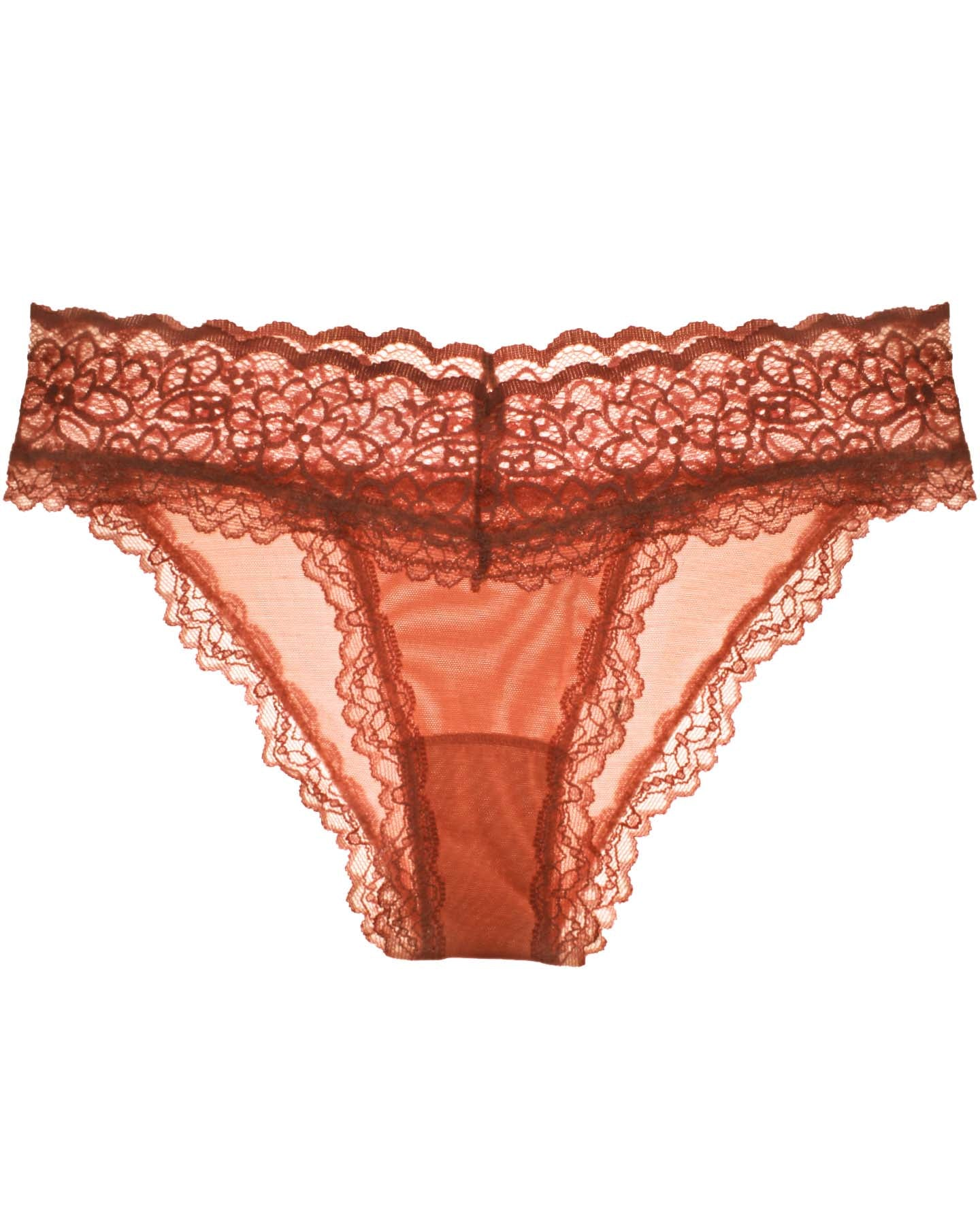 Lacey Panty in Red Clay - Uye Surana