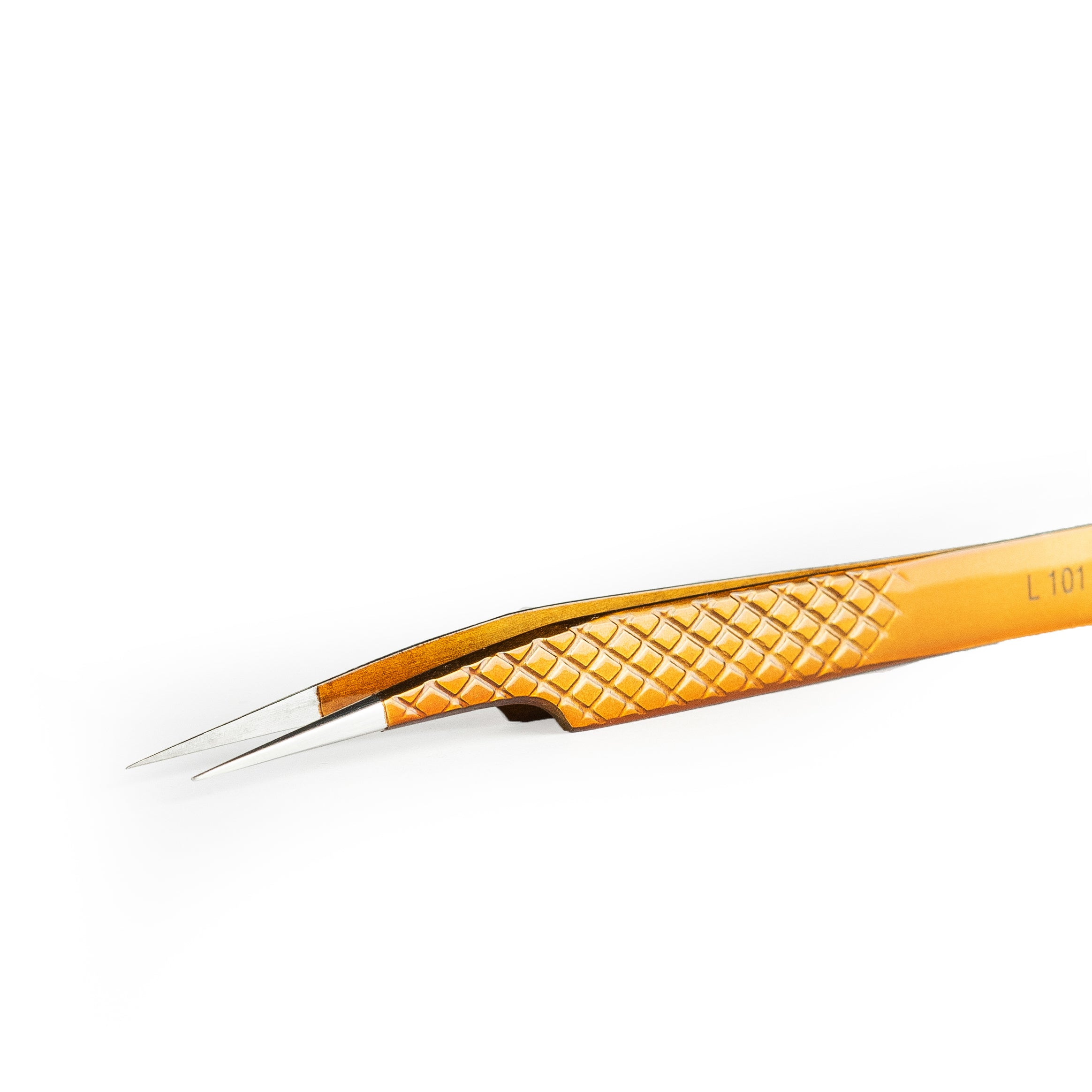 Lavere Bronze Collection -  Skinny Straight Tweezer