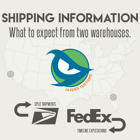 Shipping Information and Store Policies [UPDATED]