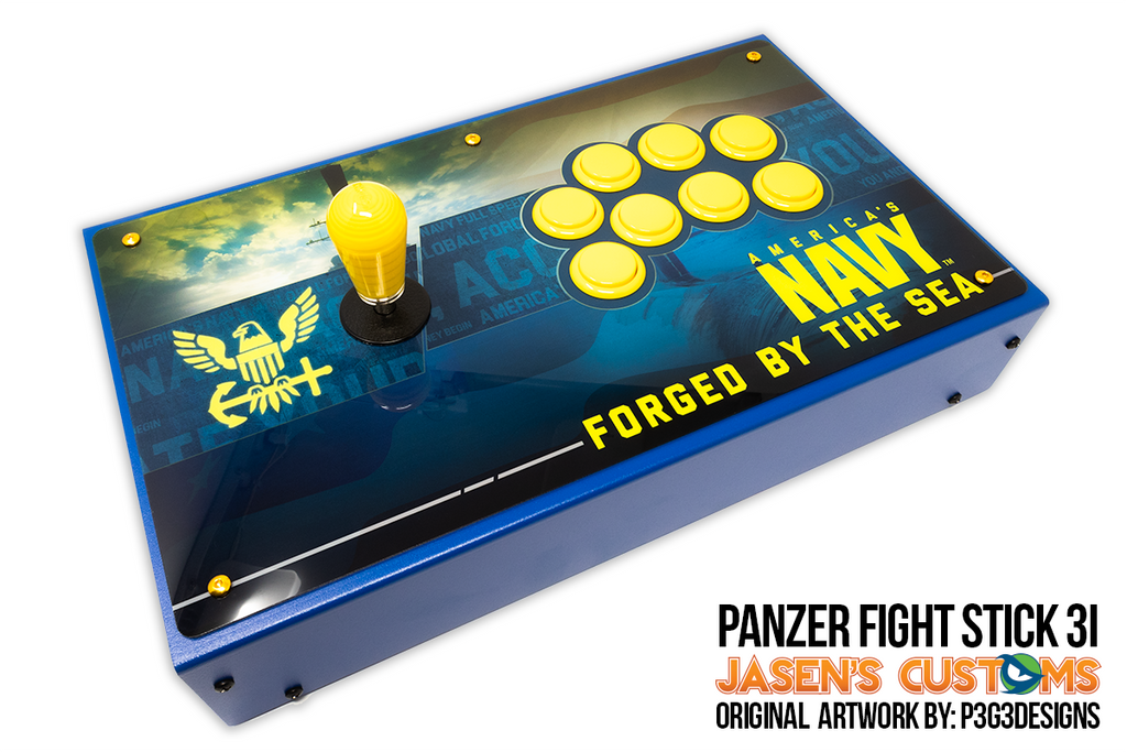 Fully Built: Panzer Fight Stick 3i [US Navy Forged From the Sea]