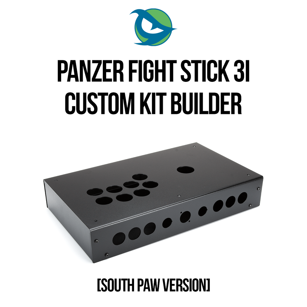 Panzer Fight Stick 3i [Southpaw] Kit Builder
