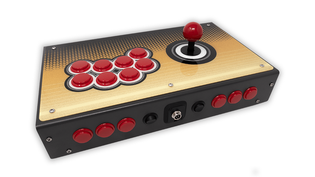 Fully Built: Panzer Fight Stick 3i [SFV Cabinet Inspired]-Jasen's Customs