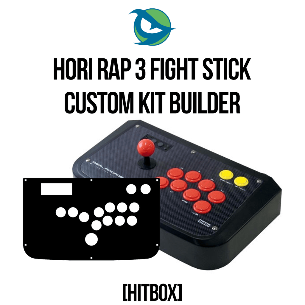 Hori RAP3 Hitbox Conversion Kit-Custom Bundle-HORIRAP3_-Jasen's Customs