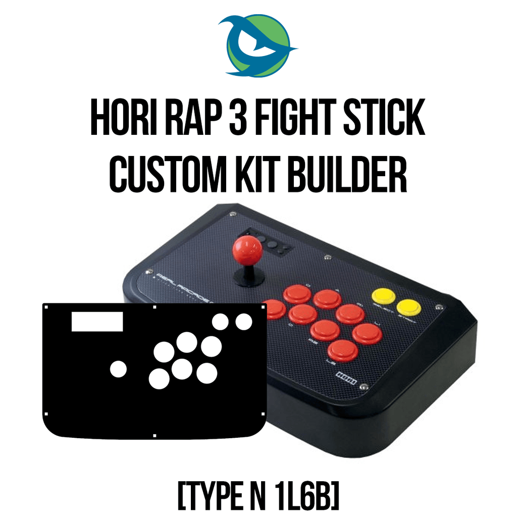 Hori RAP3 Type N 1L6B Conversion Kit-Custom Bundle-HORIRAP31L6B_-Jasen's Customs