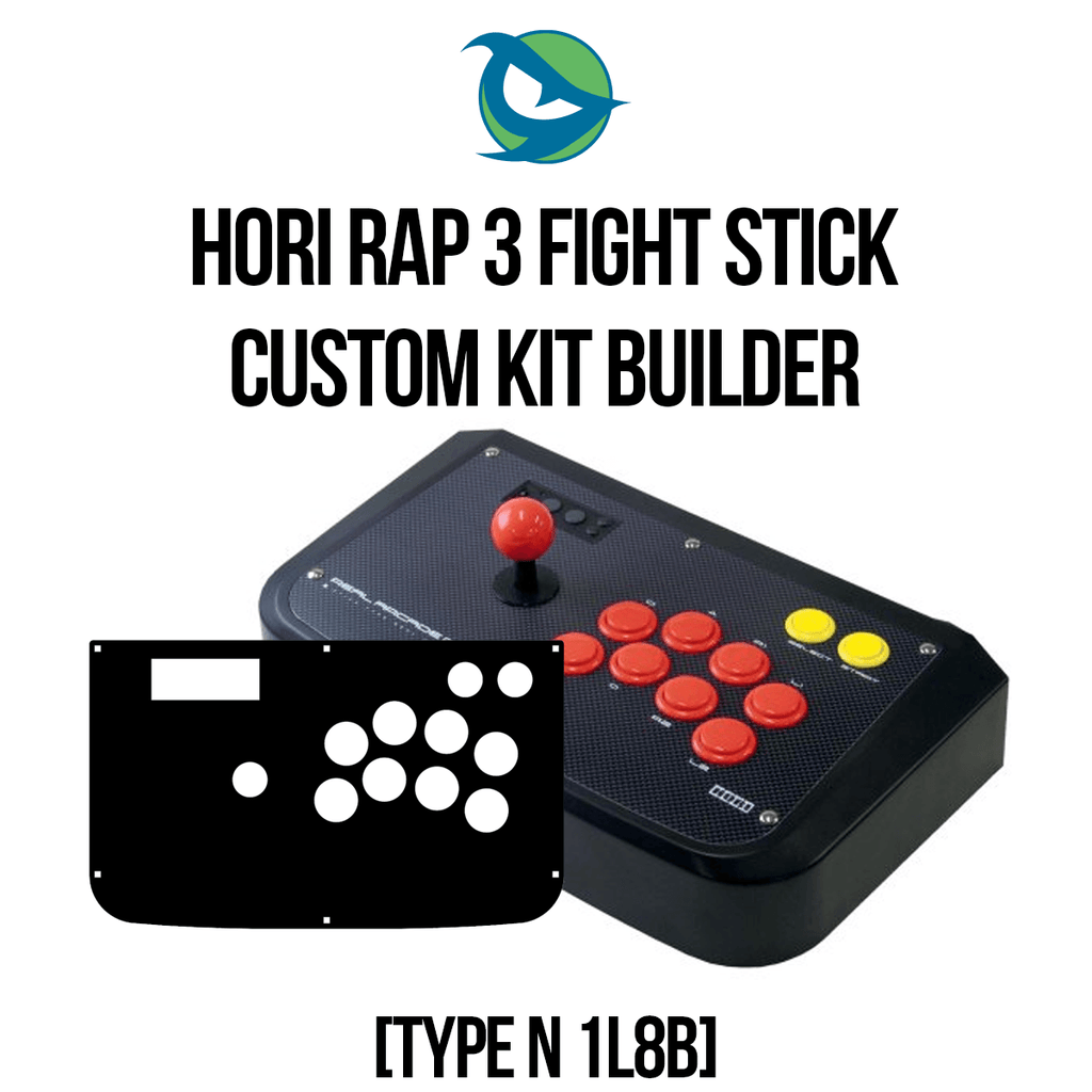 Hori RAP3 Type N 1L8B Conversion Kit-Custom Bundle-HORIRAP3_-Jasen's Customs