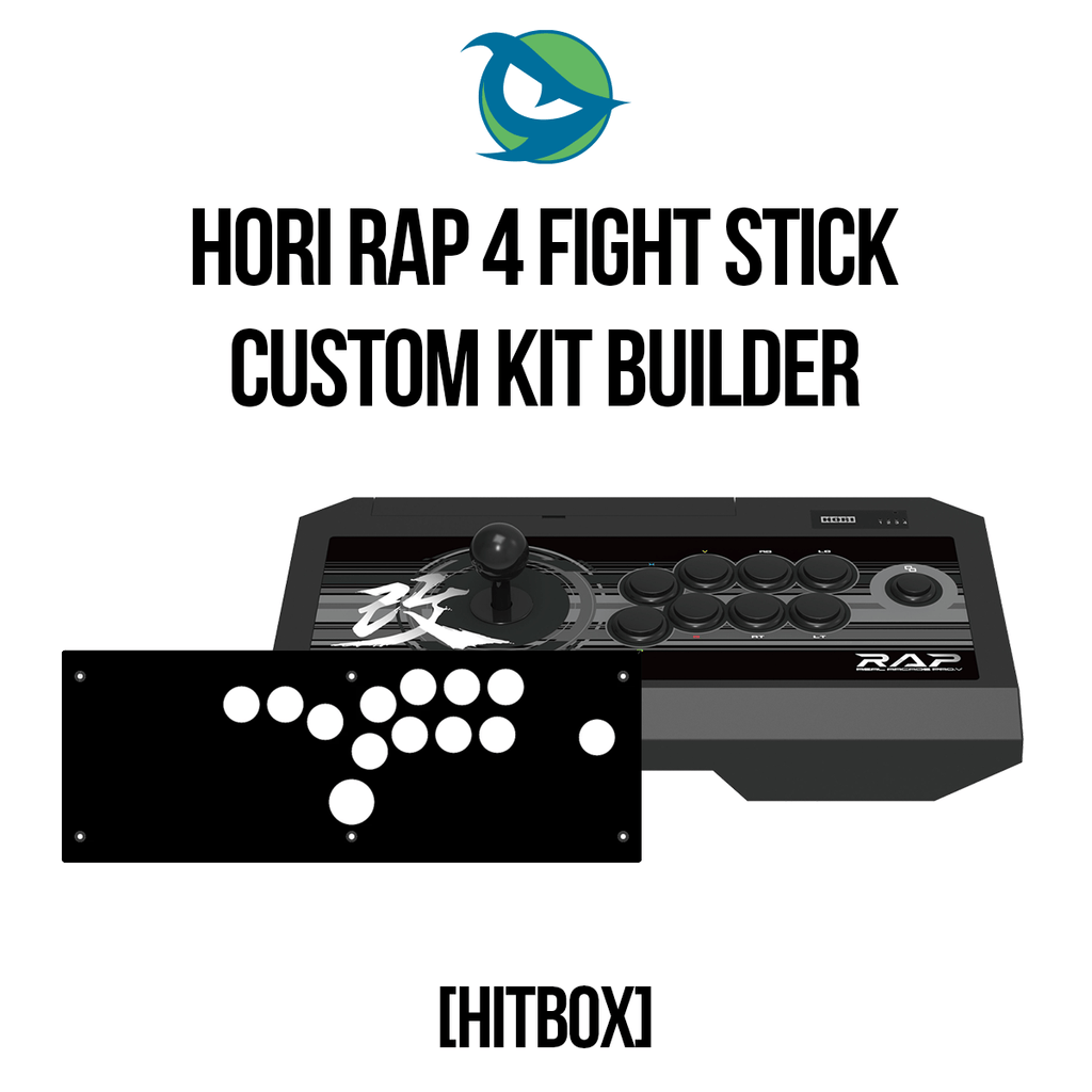 Hori RAP4 Hitbox Conversion Kit-Custom Bundle-HORIRAP3_-Jasen's Customs