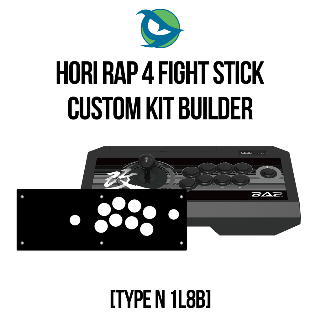 Hori RAP4 Type N 1L8B Conversion Kit-Custom Bundle-HORIRAP4_-Jasen's Customs