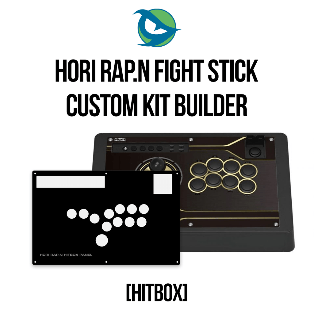 Hori RAP.N Hitbox Conversion Kit-Custom Bundle-HORIRAPN_-Jasen's Customs