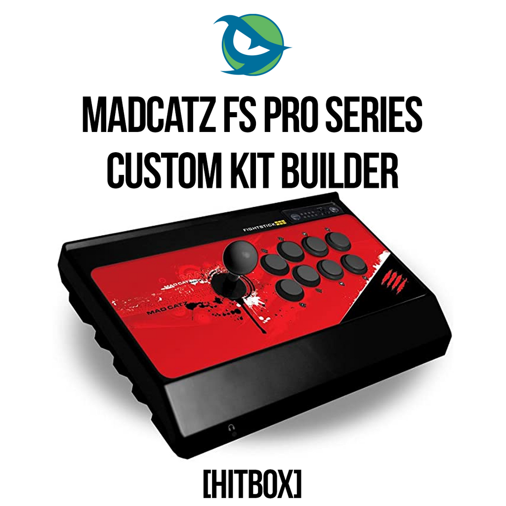 Madcatz FS PRO Hitbox Conversion Kit-Custom Bundle-MCZFSP_-Jasen's Customs