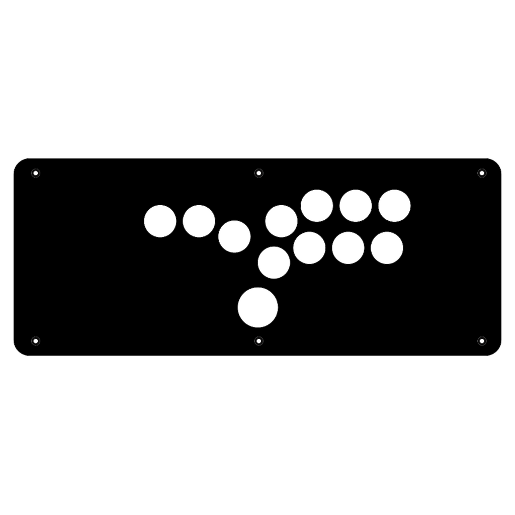 Madcatz FS Pro Hitbox Panel-Jasen's Customs - Metal Shop-Jasen's Customs