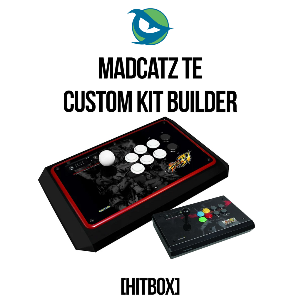 Madcatz TE Hitbox Conversion Kit-Custom Bundle-MCZTE_-Jasen's Customs