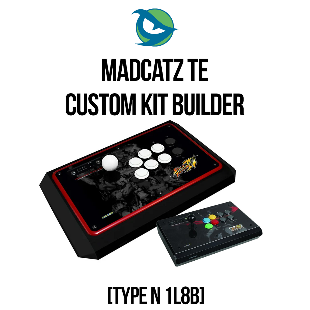 Madcatz TE Type N 1L8B Conversion Kit-Custom Bundle-MCZTE_-Jasen's Customs