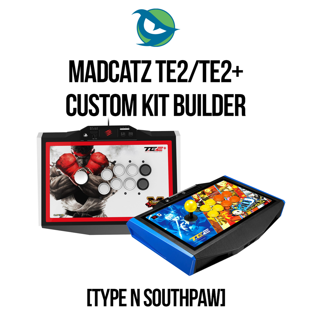Madcatz TE2/TE2+ Type N Southpaw Conversion Kit-Custom Bundle-Custom Bundle-Jasen's Customs