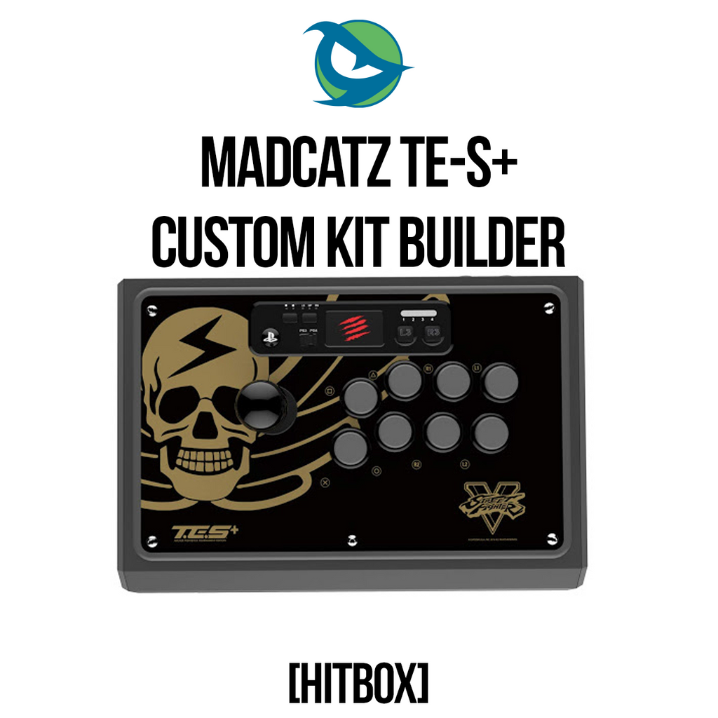 Madcatz TES+ Hitbox Conversion Kit-Custom Bundle-MCZTESPLUS_-Jasen's Customs