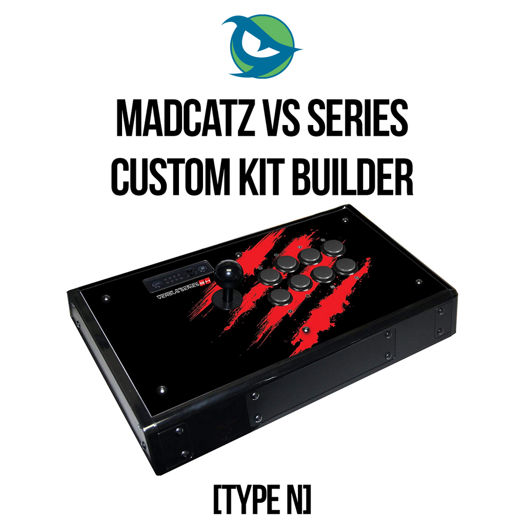 Madcatz VS Type N 1L8B Conversion Kit-Custom Bundle-MCZVS_-Jasen's Customs