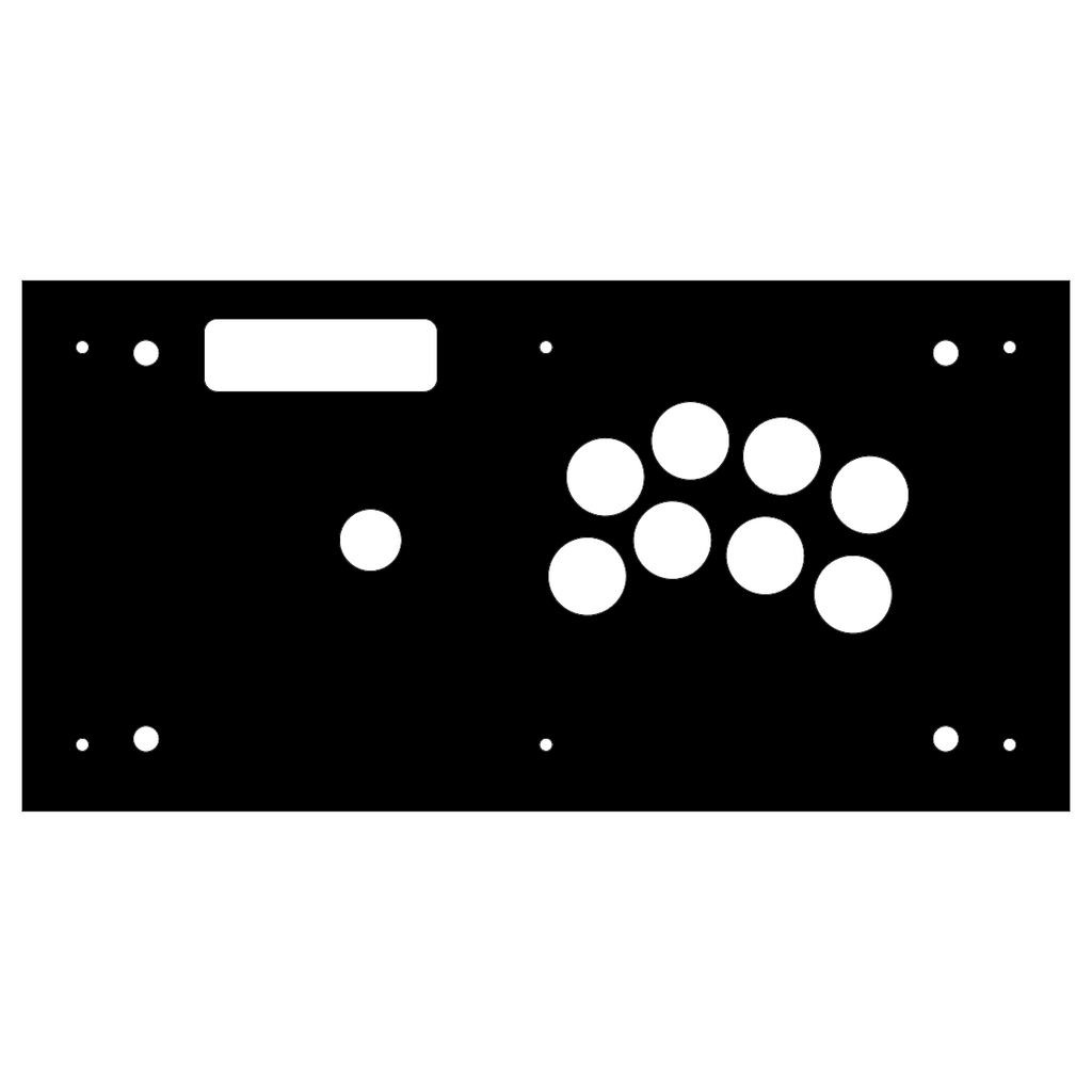 Madcatz VS Type N Replacement Panel-Jasen's Customs