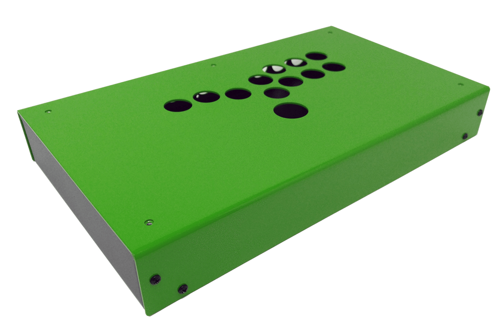 Panzer Fight Stick 3 Hitbox - Case Only-Panzer Fight Stick-Jasen's Customs - Metal Shop-Emerald Two Tone-Jasen's Customs