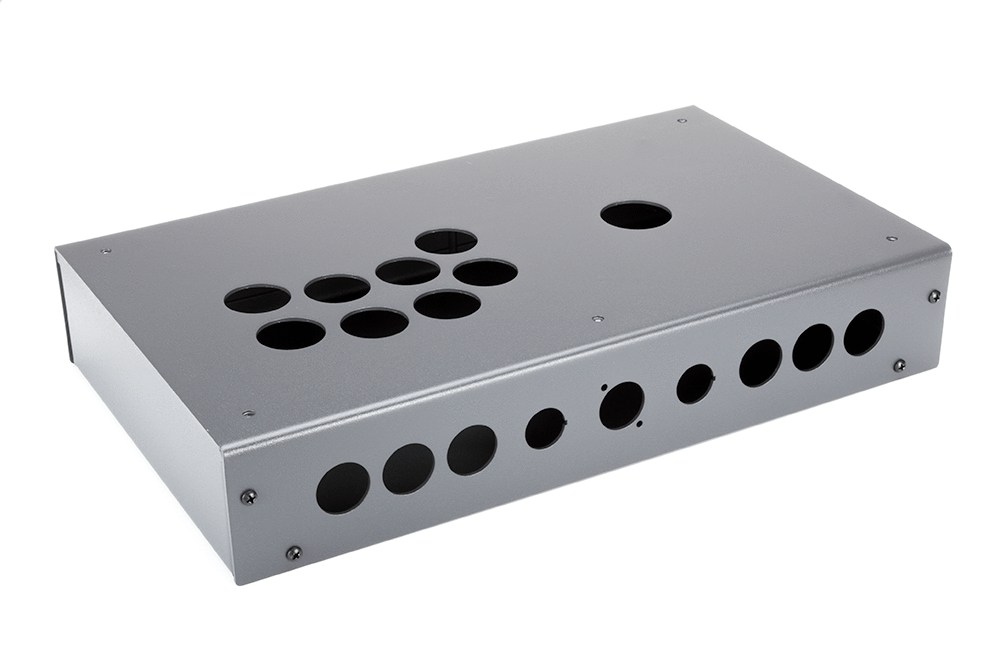 Panzer Fight Stick 3i [SOUTHPAW]- Case Only-Panzer Fight Stick-Jasen's Customs - Metal Shop-Graphite Sandtex-Jasen's Customs