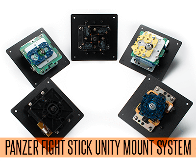Panzer Fight Stick 3i - Universal Lever Mount-Jasen's Customs