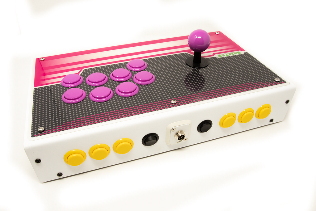 Fully Built: Panzer Fight Stick 3i [Taito Egret 2 Cabinet Inspired]