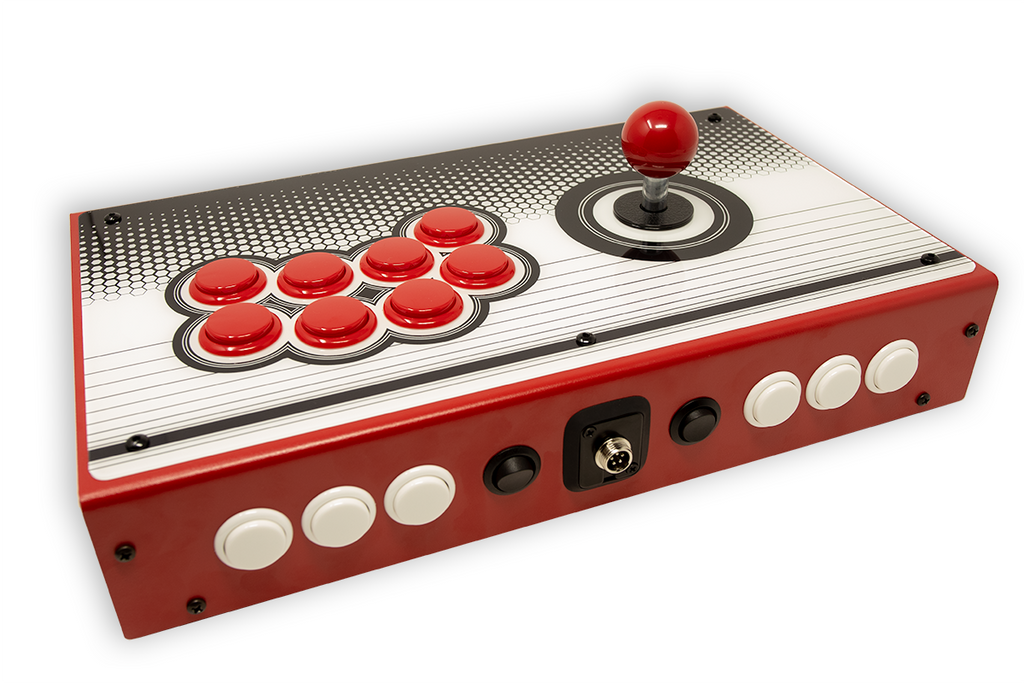 Fully Built: Panzer Fight Stick 3i [Vewlix Cabinet Inspired]