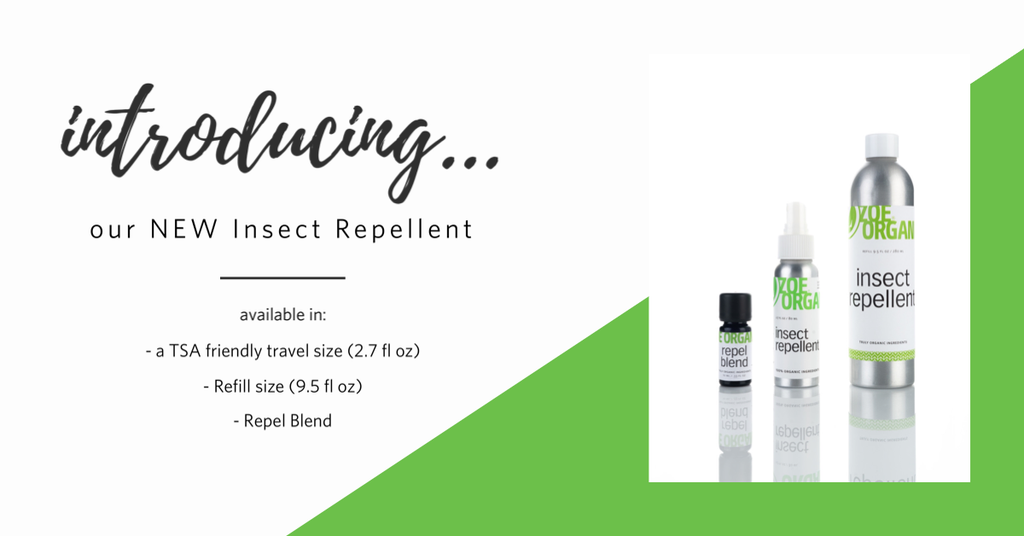 NEW! Insect Repellent Spray, Repel Blend and Refill!