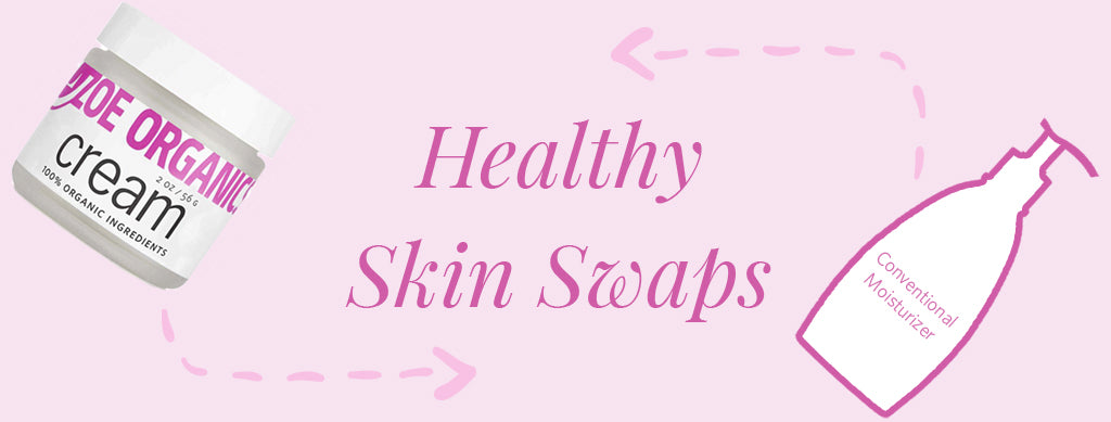 Healthy Skin Swaps: Cream