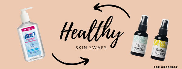 Healthy Skin Swaps: Hand + Surface Spray