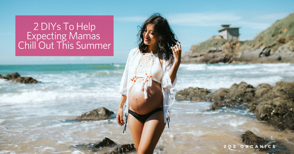 2 DIYs To Help Expecting Mamas Chill Out This Summer