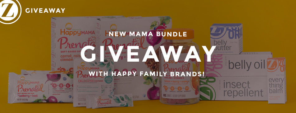 New Mama Bundle GIVEAWAY with Happy Family Brands!