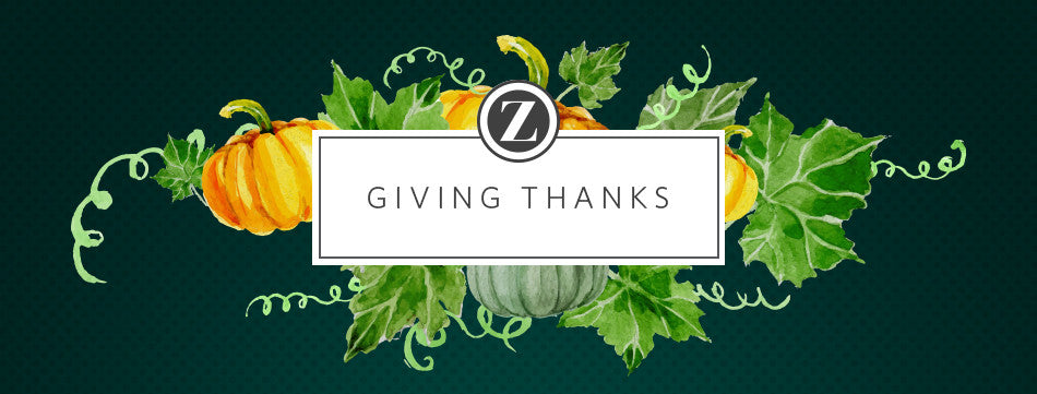 Giving Thanks :: A Note from our Founder