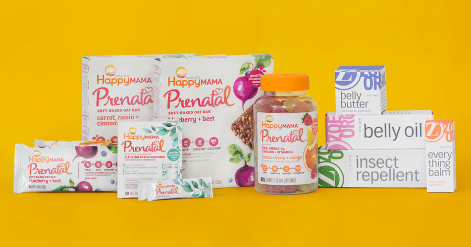 Zoe Organics / Happy Family Brands Mama Bundle GIVEAWAY