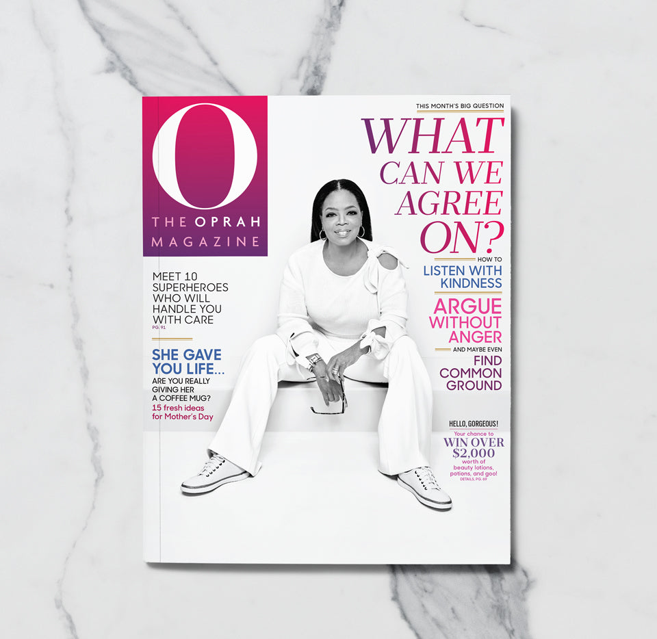 Oprah Magazine May 2018: Cover