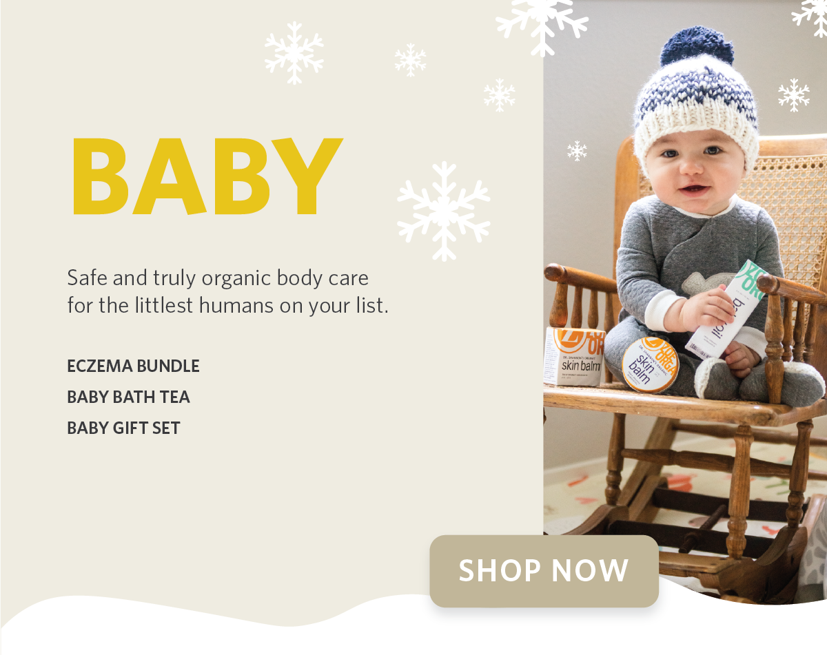 Zoe Organics Holiday Gift Guide for Baby