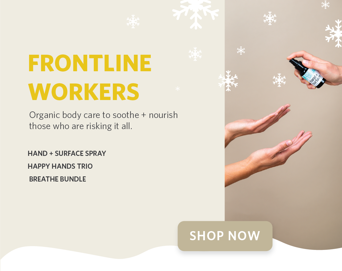 Zoe Organics Holiday Gift Guide for Frontline Workers
