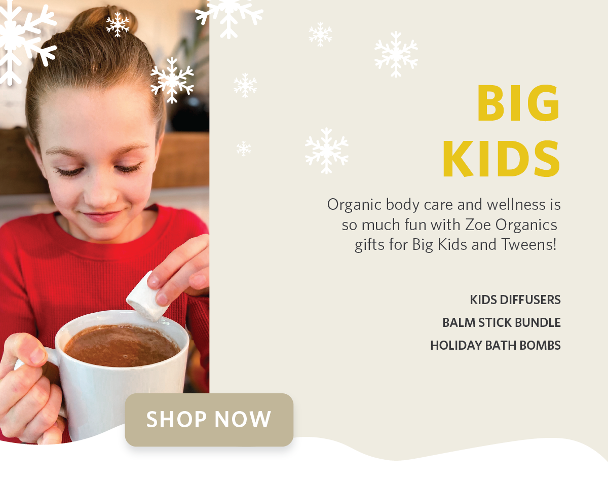Zoe Organics Holiday Gift Guide for Kids