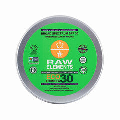 Raw Elements Eco Formula 30+ Lotion Tin