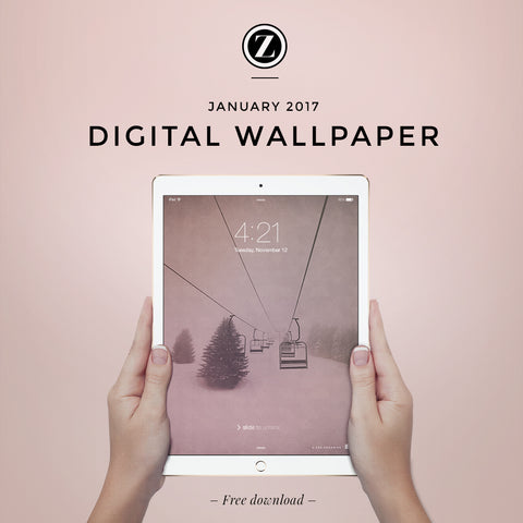 Zoe Organics Digital Wallpaper: January 2017  |  Free download