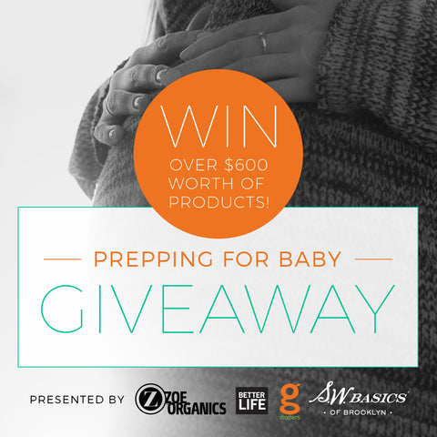 Prepping for Baby: GIVEAWAY!