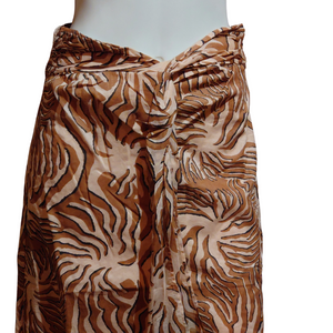 Seasonal Print Long Skirt