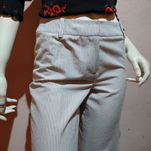 Load image into Gallery viewer, Wide Pants with Striped printed made in JAPAN - boutique HANAYA