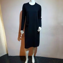 Load image into Gallery viewer, Crew Neck Knit Dress - boutique HANAYA