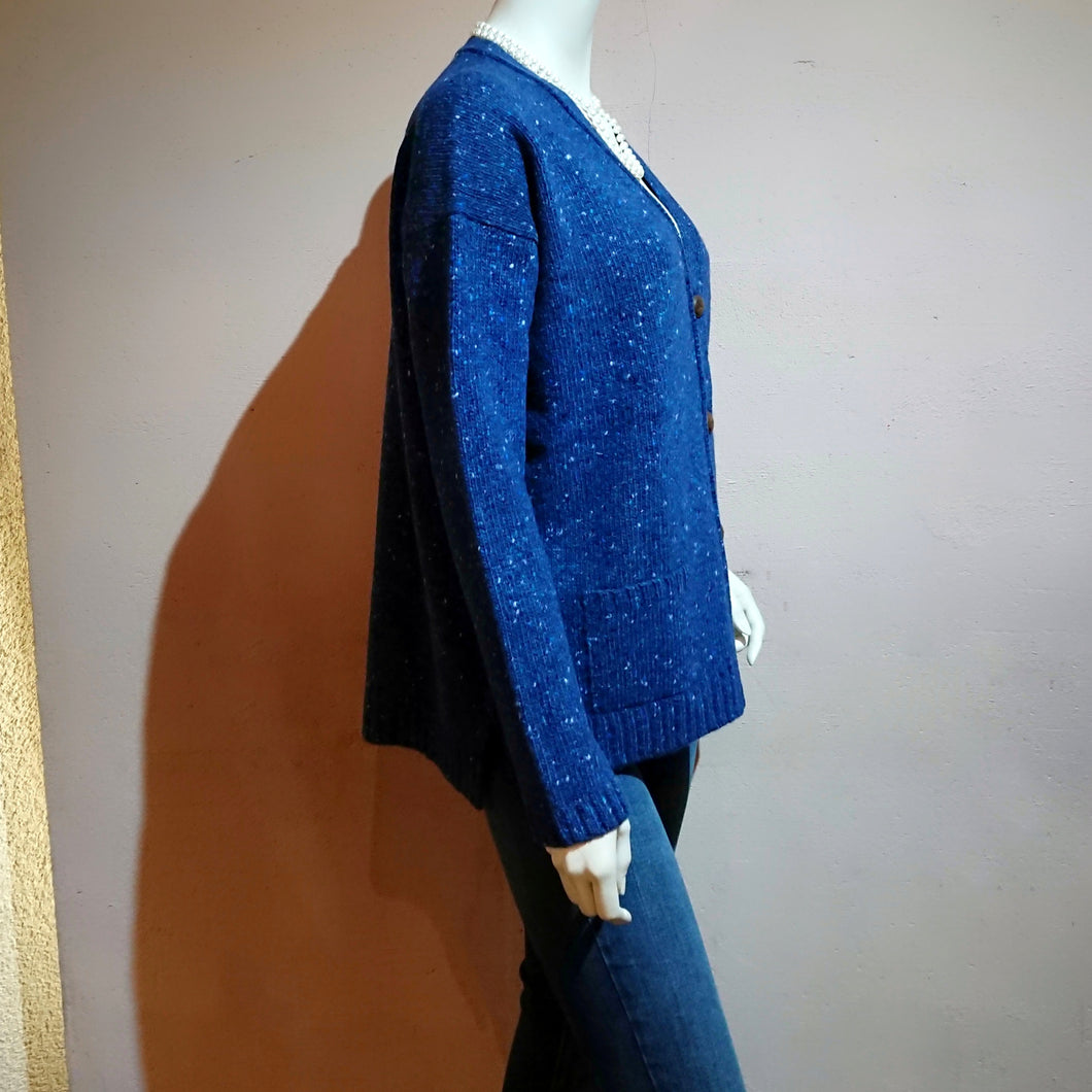 V-neck Cardigan - boutique HANAYA
