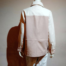 Load image into Gallery viewer, Leather Shirt-like Jacket