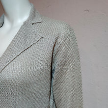 Load image into Gallery viewer, 100% Linen Knit Tailored Jacket