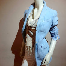 Load image into Gallery viewer, Linen Tailored Jacket, BOGLIOLI Milano - boutique HANAYA
