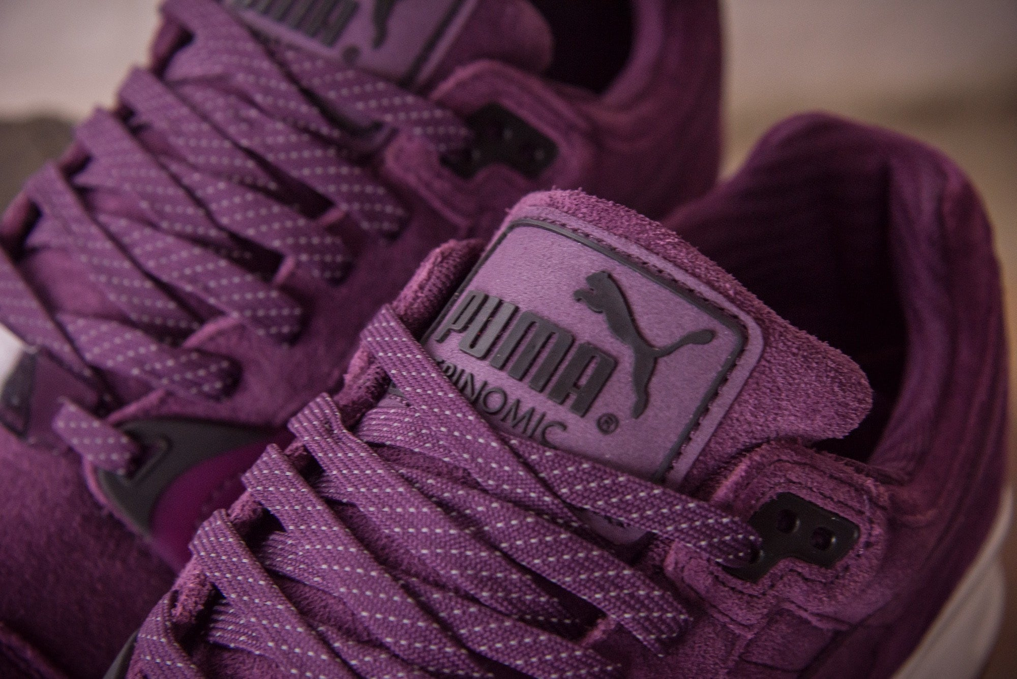 Puma Purple Trainers